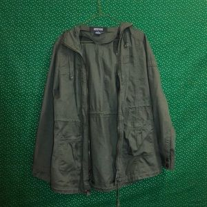 Kenneth Cole Reaction Army Jacket